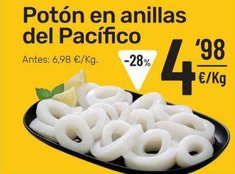 Oferta de Potón en anillas del Pacífico por 4,98€