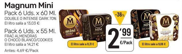 Oferta de  Magnum Mini  por 2,99€