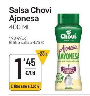 Oferta de Salsa Chovi Ajonesa 400 ml por 1,45€