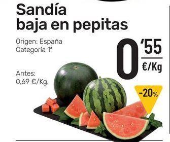 Oferta de Sandía por 0,55€