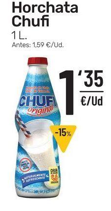 Oferta de Horchata Chufi 1 l por 1,35€