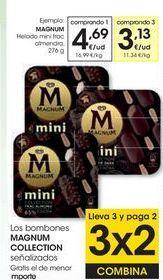 Oferta de MAGNUM Helado mini almendra por 4,69€