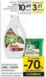 Oferta de ARIEL Detergente Líquido Ultra Oxi por 10,69€