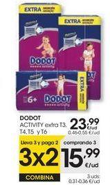 Oferta de DODOT ACTIVITY extra por 23,99€