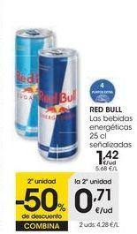 Oferta de RED BULL Las bebidas energéticas  por 1,42€
