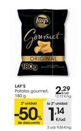 Oferta de LAY'S Patatas gourmet por 2,29€
