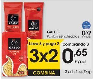 Oferta de GALLO Pasta señalizadas por 0,98€
