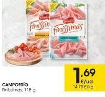 Oferta de CAMPOFRÍO Finíssimas por 1,69€