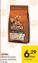Oferta de ULTIMA Alimento para perros Yorkshire por 6,29€