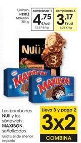 Oferta de NESTLÉ Maxibon por 4,75€