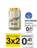 Oferta de SAN MIGUEL Cerveza Radler por 0,61€