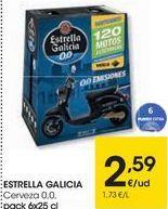 Oferta de ESTRELLA GALICIA Cerveza 0,0  por 2,59€