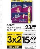 Oferta de DODOT ACTIVITY extra T3, T4, T5 y T6 por 23,99€