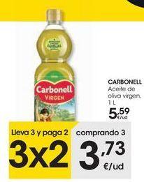 Oferta de CARBONELL Aceite de oliva virgen  por 5,59€