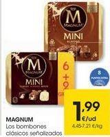 Oferta de MAGNUM Los bombones clásicos señalizados por 1,99€
