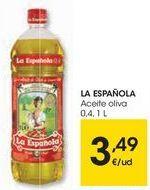 Oferta de LA ESPAÑOLA Aceite oliva  por 3,49€