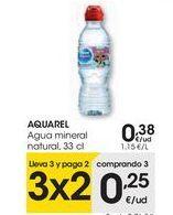 Oferta de AQUAREL Agua mineral natural  por 0,38€