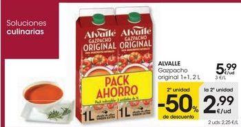 Oferta de ALVALLE Gazpacho original por 5,99€