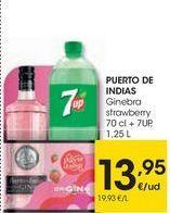 Oferta de PUERTO DE INDIAS Ginebra strawberry  por 13,95€
