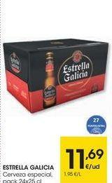Oferta de ESTRELLA GALICIA Cerveza especial  por 11,69€