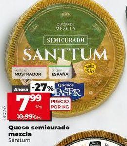 Oferta de Queso semicurado por 7,99€