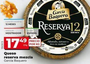 Oferta de Queso reserva García Baquero por 17,49€