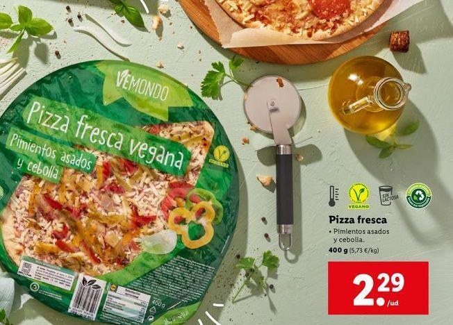 Oferta de Pizza por 2,29€