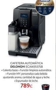 Oferta de Cafetera automática DeLonghi por 789€