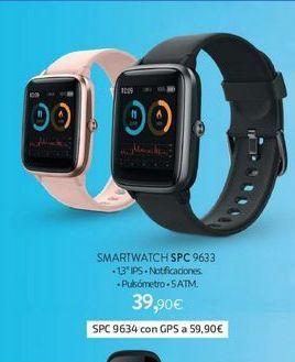 Oferta de Smartwatch SPC 9633 por 39,9€