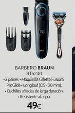 Oferta de Barbero Braun por 49€