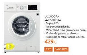 Oferta de Lavadoras LG por 429€