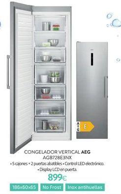 Oferta de Congelador vertical AEG por 899€