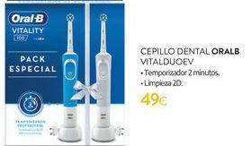 Oferta de Cepillo dental Oral B Vitalduoev por 49€
