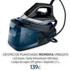 Oferta de Centro de planchado Rowenta por 139€