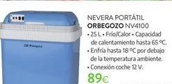 Oferta de Nevera portátil Orbegozo por 89€