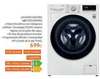 Oferta de Lavasecadora LG por 699€
