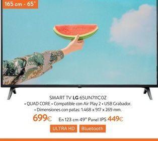 Oferta de Smart tv LG por 699€