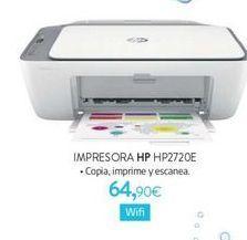 Oferta de Impresora HP HP2720E por 64,9€