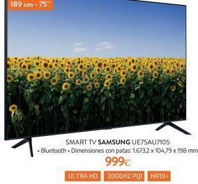Oferta de Smart tv Samsung por 999€