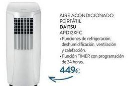 Oferta de Aire acondicionado portatil DAITSU por 449€