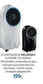 Oferta de Climatizador DeLonghi por 199€