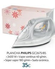Oferta de Plancha Philips por 35€