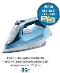 Oferta de Plancha Braun por 89€