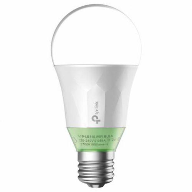 Oferta de BOMBILLA INTELIGENTE TP-LINK LED 60W 2700K BLANCO AJUSTABLE por 72,5€