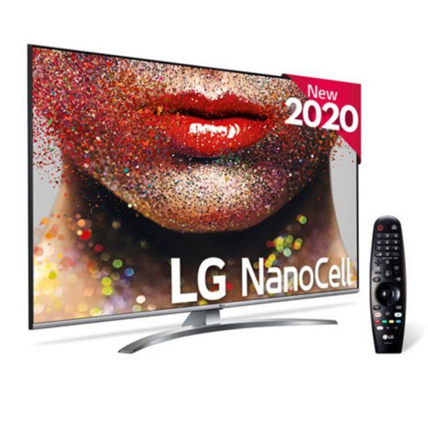 """Oferta de TV LED NANOCELL 55"""" 4K LG 55NANO816 SMART TV por 637€"""