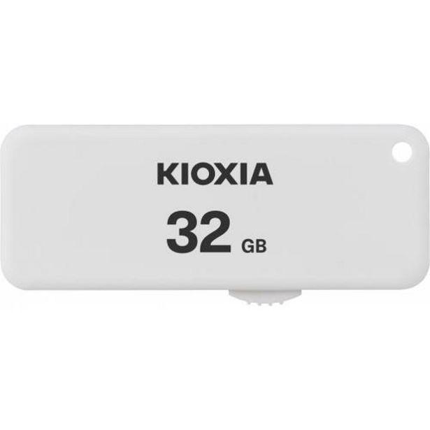 Oferta de USB 2.0 KIOXIA 32GB U203 BLANCO por 8,2€