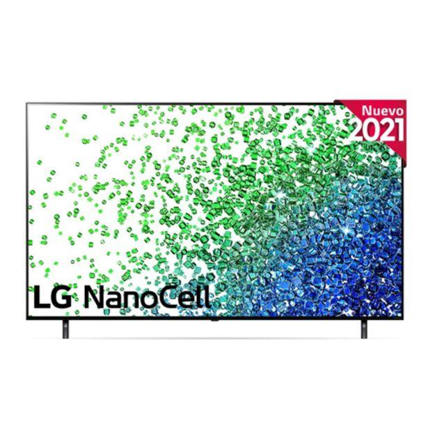 "Oferta de TV NANOCELL 55"" 4K LG 55NANO806PA SMARTV por 799€"