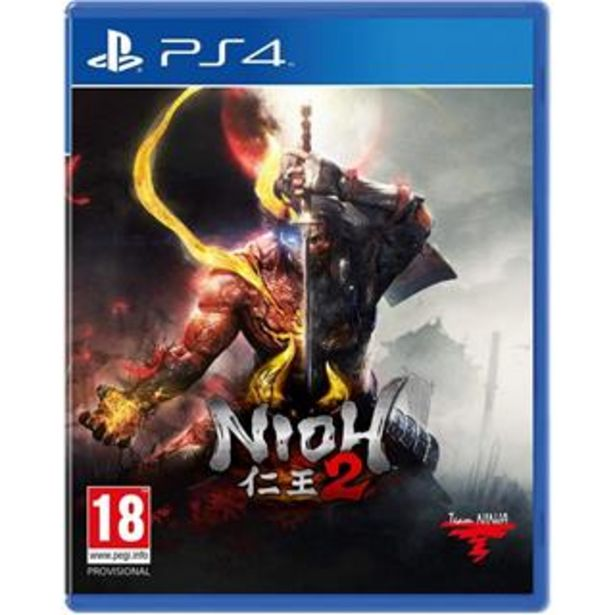 Oferta de VIDEOJUEGO PARA PS4 NIOH 2 por 63,8€