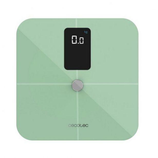 Oferta de BASCULA BAÑO 10400 SMART HEALTHY VISION VERDE 0426 por 27,9€