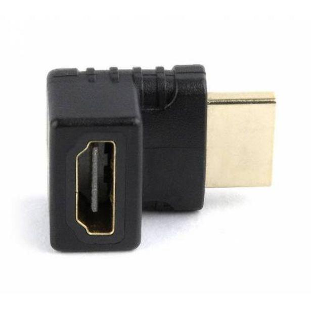 Oferta de ADAPTADOR GEMBIRD HDMI HEMBRA A HDMI MACHO 270º ANGULO ARRIBA por 4,7€